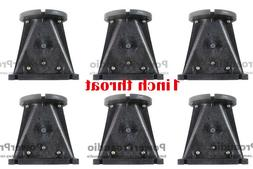 6PCS Horn Wave Guide 1 Inch Throat For DJ Home Theater Profe