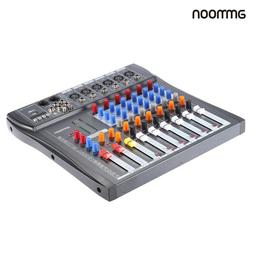 ammoon 8 Channel Digtal Mic Line Audio Mixer Mixing Console
