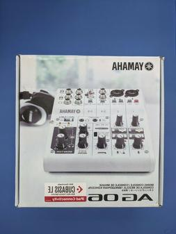 YAMAHA AG06 6 Channel Web Casting Mixer 2 Channel USB Audio