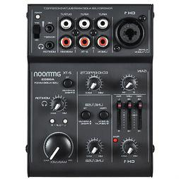age03 5 channel mini mic line mixing