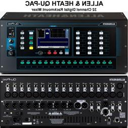 ALLEN & HEATH QU-PAC 32 Channel Rackmount Digital Touchscree