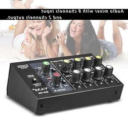 ammoon AM-228 Ultra-compact Low Noise 8 Channel Audio Sound