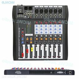 Audio-Mixer MiCWL 6 Channel Bluetooth Music Mixing Console K