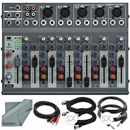 Behringer XENYX 1002B 10-Channel Audio Mixer and Accessory B