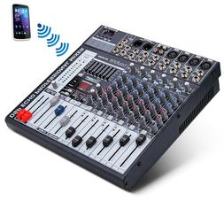 BOYTONE 8 Channel BLUETOOTH Professional Live Studio Audio M