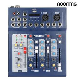 3-Channel DJ Sound Mixing Console Digital Mixer Effects Audi