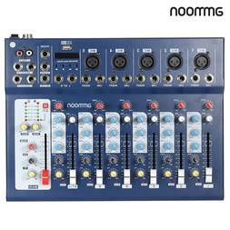 ammoon F7-USB 7-Channel Digital Mic Line Audio Sound Mixer M