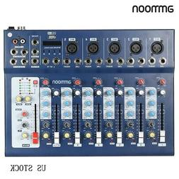 ammoon F7-USB 7-Channel Digital Mic Line Audio Sound Mixer C