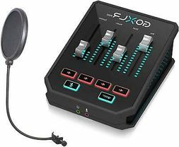 GoXLR Mini - Mixer & USB Audio Interface for Streamers, Game