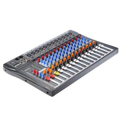 Professional Channels Line Live Mixing Studio Sound Mixer