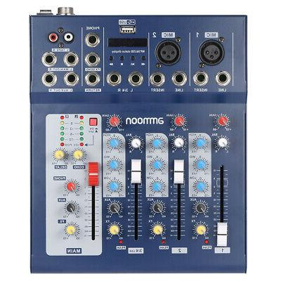 ammoon 3 Channel Line Console Power