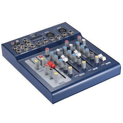 Line Audio Mixing Console 48V Phantom Power