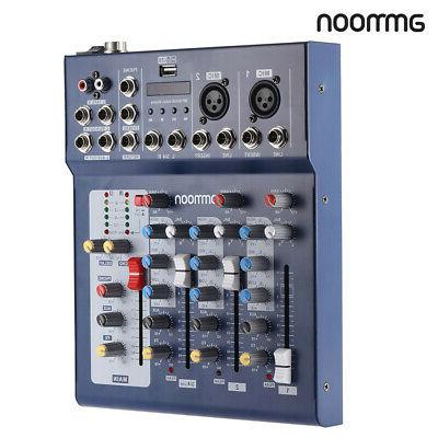 ammoon Channel Digital Mic Mixer Console for M9D1