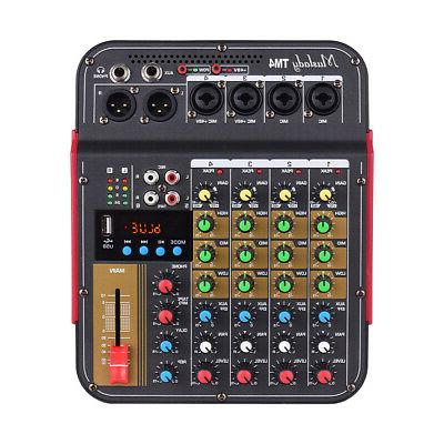 4Channel Mini Bluetooth Mixing Amplifier