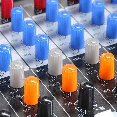 6 Channel USB Mixing Console