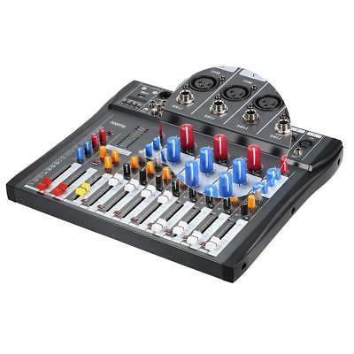 8 Channel Line Mixer Console Recording