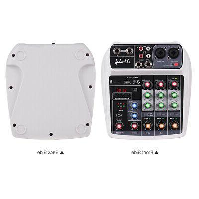 ai4 compact sound card mixing console digital
