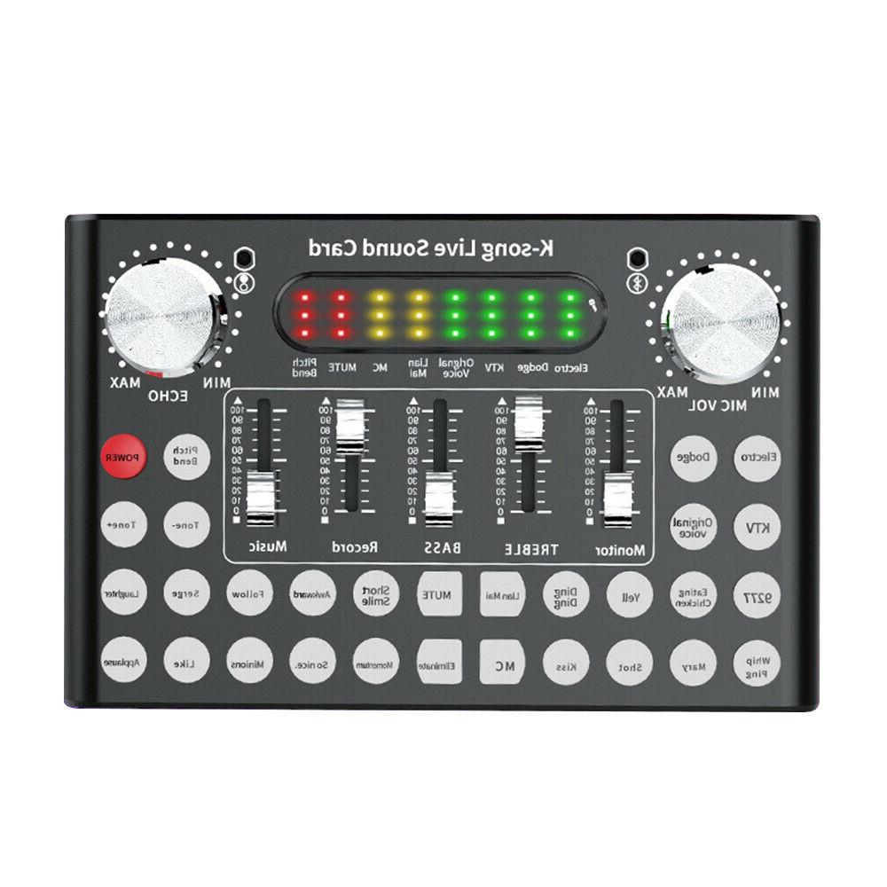 Bluetooth Sound Interface Audio Mixer with DSP Audio