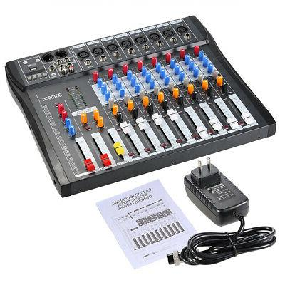 8 Channel USB Console Digtal for Live Podcast J3N3