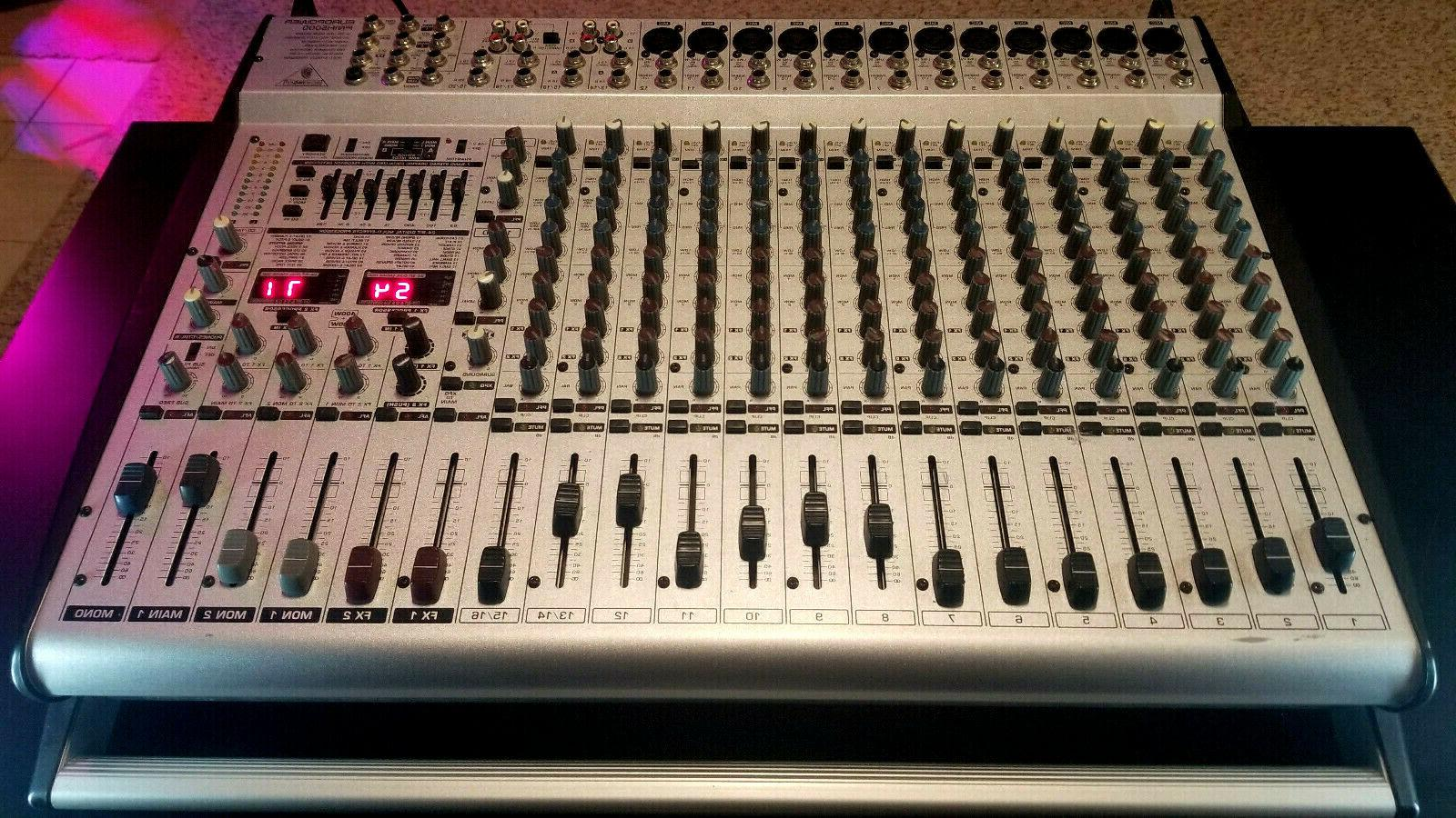 europower pmh5000 powered mixer live sound excellent