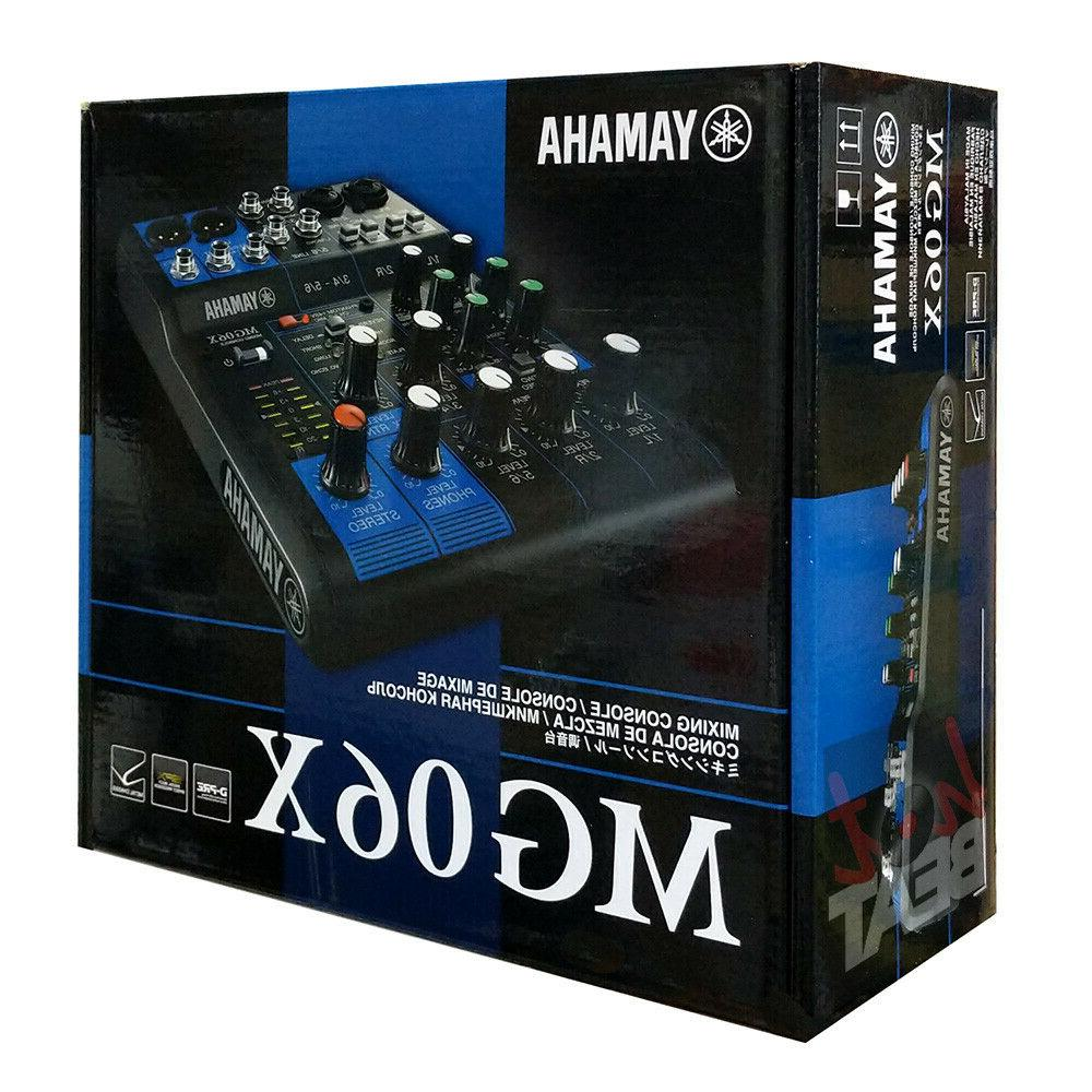 Audio Mixer with Built In Effects