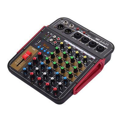 4Channel Mini Bluetooth Mixing Console