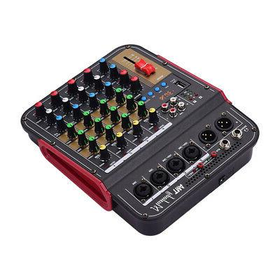 4Channel Audio Bluetooth Mixing Console Amplifier Studio
