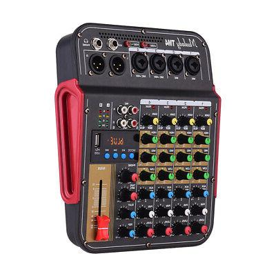 4Channel Bluetooth Mixing Console Amplifier