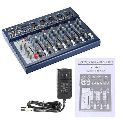 ammoon 7-Channel Digital Mixer