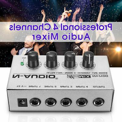 mx400 ultra compact low noise 4 channels