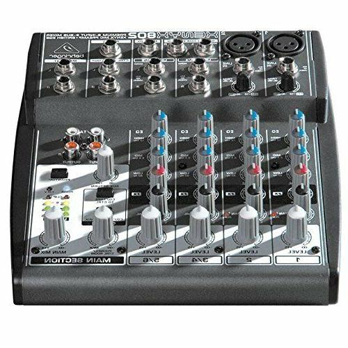 new multi vocal mixer 2 bus 8