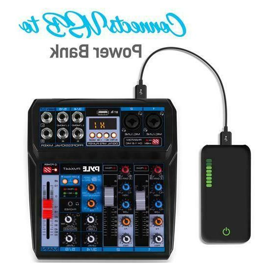 Pyle Professional Compact DSP