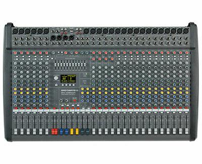 powermate 2200 3 22 channel powered mixer