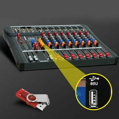 mixing console USB