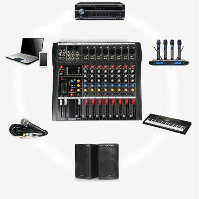 Professional Mixer 8 Channel mixing console USB