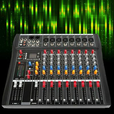 8 mixing console USB