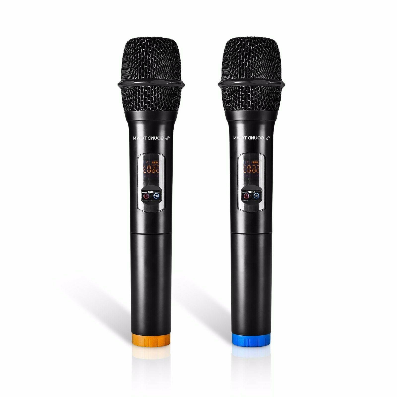 Sound UHF Channels Wireless Microphone and Karaoke System
