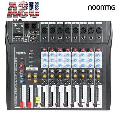 usb mixing mixer console 8 channel professional