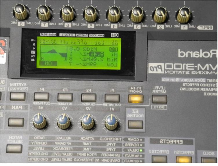 Roland 20-channel Audio Japan Used
