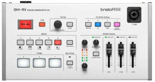 vr 1hd audio video streaming mixer