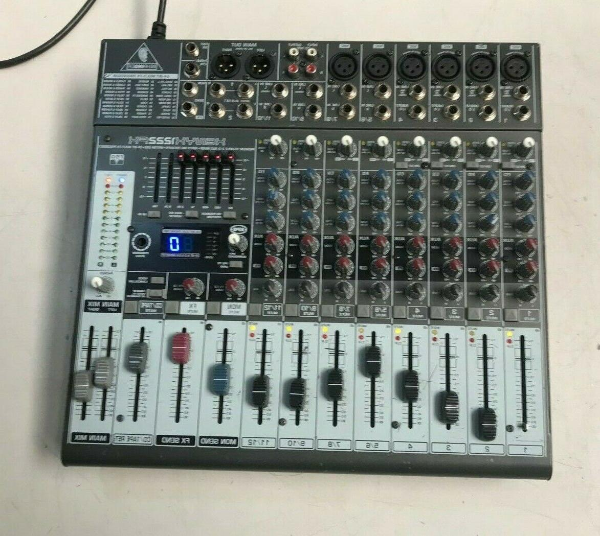 BEHRINGER FX AUDIO