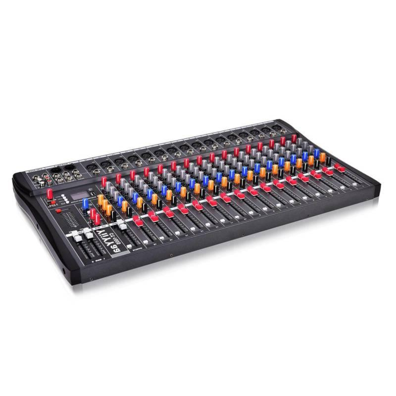 Professional Channel Audio Mixer Power