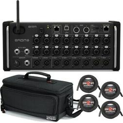 Midas MR18 18-Input Digital Mixer Audio Interface + Carry Ba
