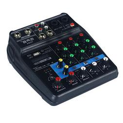 New Mini USB and Bluetooth External Sound Card Mixing Consol