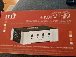 MXL MM-4000 Mini USB or Battery Powered 4 Channel Podcast C