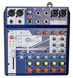 Soundcraft Notepad-8FX 8-Channel Live Sound/Recording Mixer+