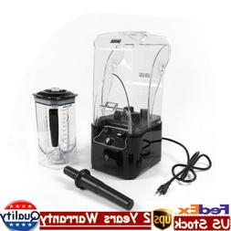 Soundproof Cover Blender Mixer Juicer Comercial Smoothie Ble