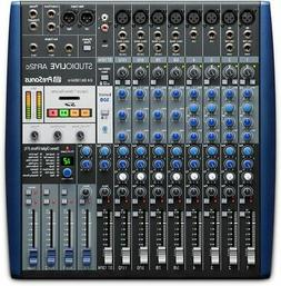 StudioLive AR12c Mixer and Audio Interface with Effects