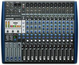 PreSonus StudioLive AR16c Recording Mixer and USB Audio Inte