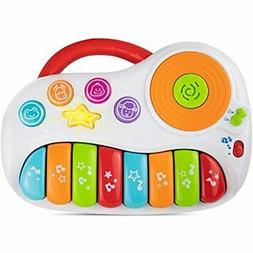 Toddler Piano, Music & Sound Baby With DJ Mixer. Musical Ins